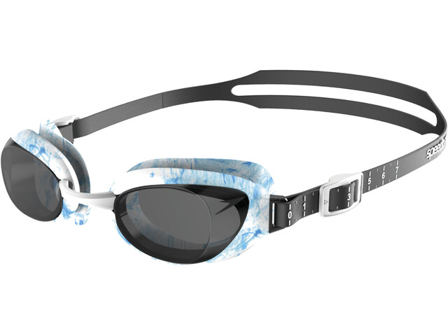 5aaedb65d5 speedo Aquapure Optical Goggle white black at Addnature.co.uk